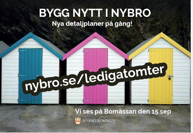 Vi ses på Bomässan 15 september